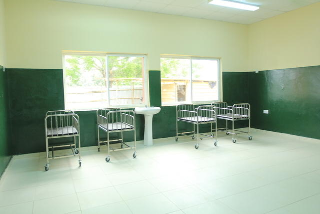 Baby ward at the female ward of Epe General Hospital Lagos
